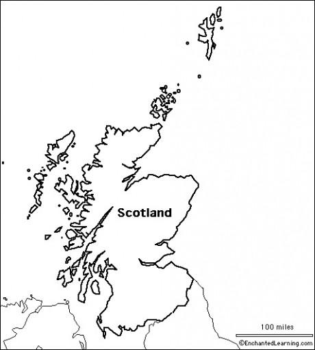 scotlandoutline