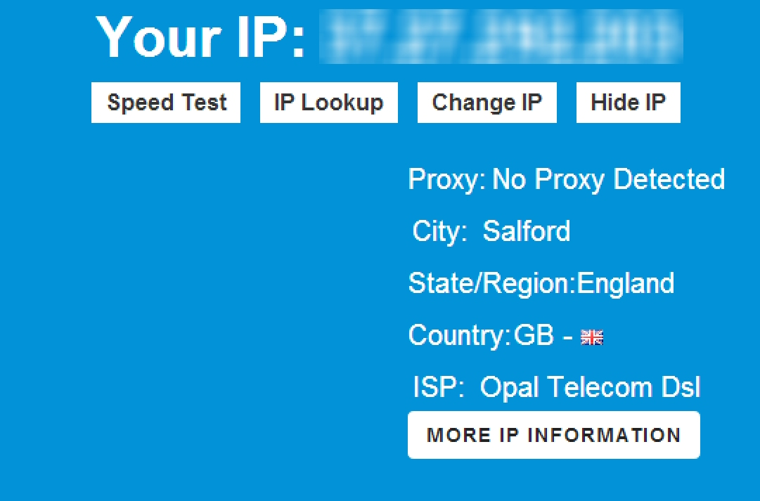 how to know what ip addresses are being used