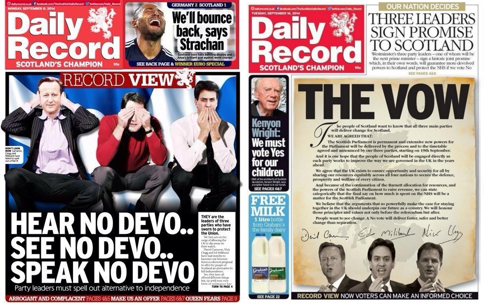Wings Over Scotland| The problem voice of unthinking ... Daily Record