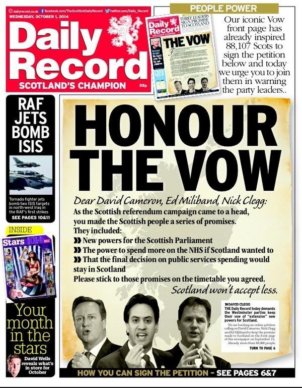 Wings Over Scotland | Stop or we'll say stop again Daily Record