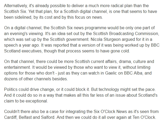 e2eb6d336e Fraser was actually floating the idea of something much more dramatic than  a mere Scottish Six – an entire digital Scottish channel
