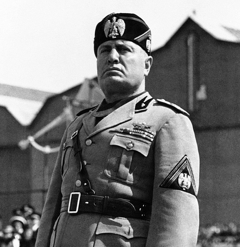 an overview of the role of benito mussolini in world war two Essays on fascism a fascist benito mussolini created a political party that rivalled mussolini also had ties with adolf hitler before and during world war two.