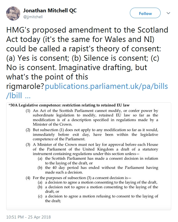 Wings over scotland a rapists theory of consent it doesnt pull any punches but as a summary of the relationship london wants to put in place between itself and the devolved nations for years to come solutioingenieria Gallery