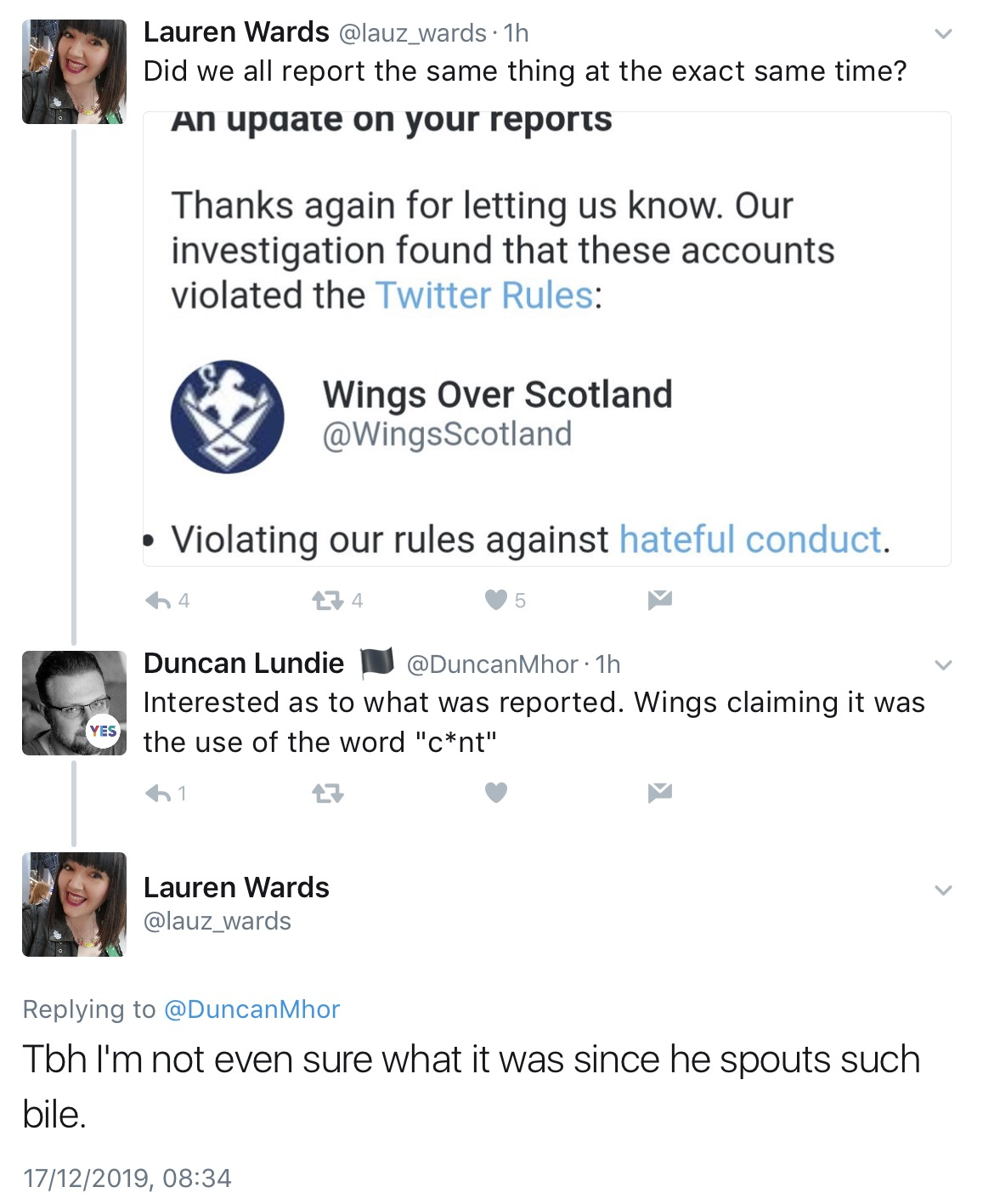 Wings Over Scotland | The Silence
